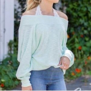 Free People Palisades Off the Shoulder Sweater